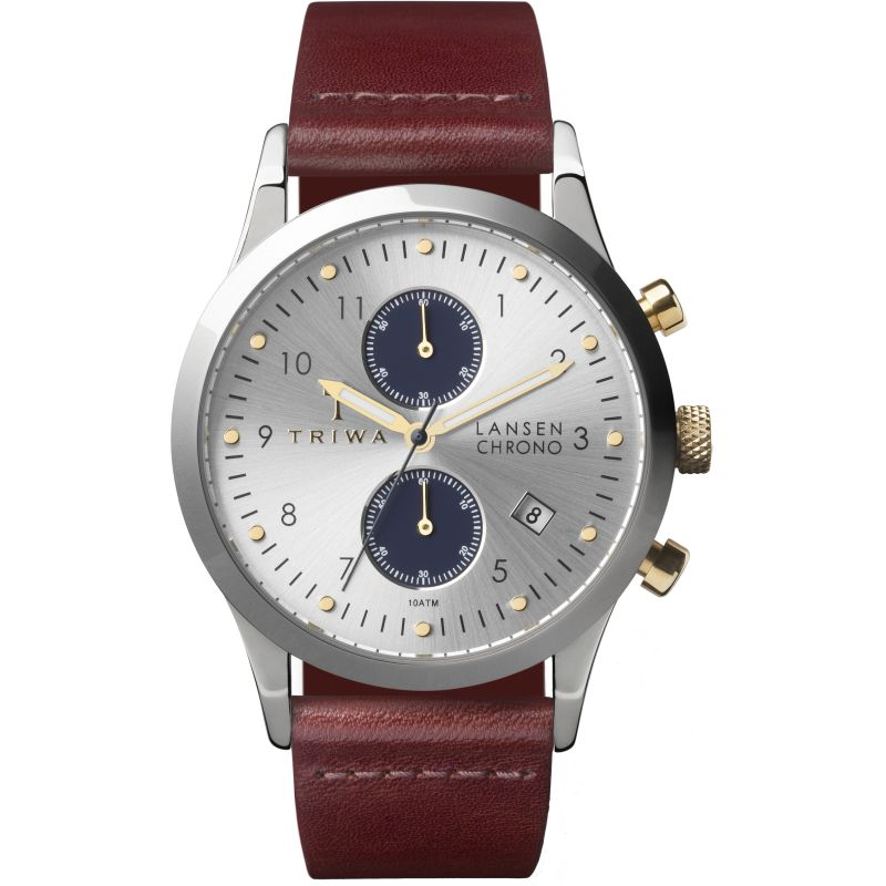 Mens Triwa Loch Lansen Chrono Chronograph Watch