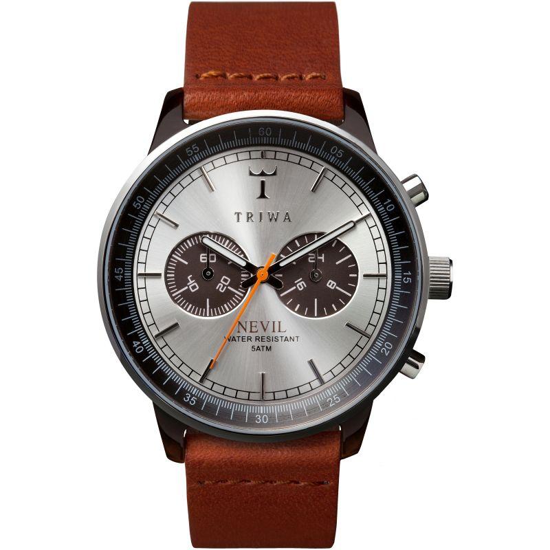 Mens Triwa Havana Nevil 2.0 Chronograph Watch