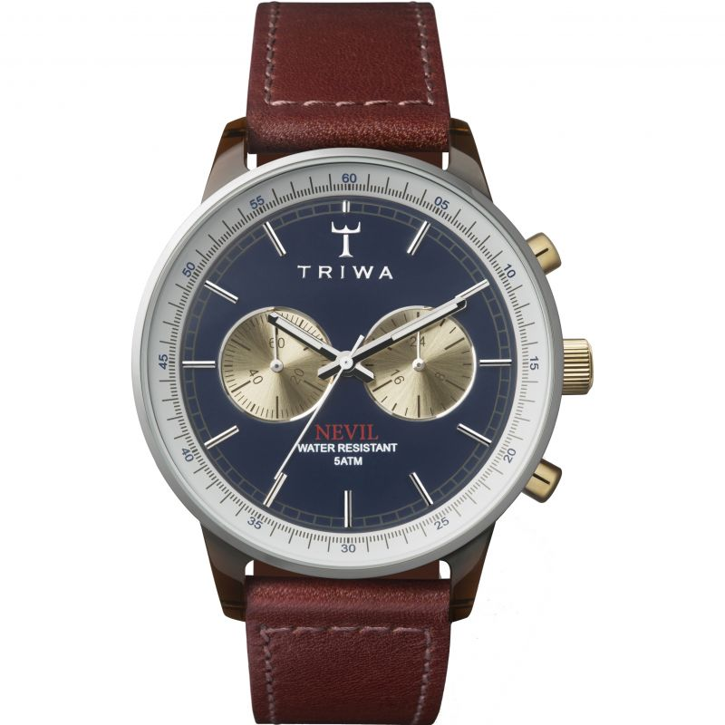 Mens Triwa Duke Nevil 2.0 Chronograph Watch