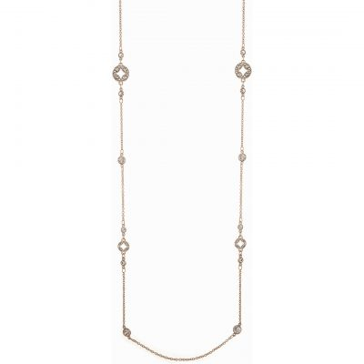 Joyería para Mujer Anne Klein Jewellery Crystal Necklace 60449898-9DH