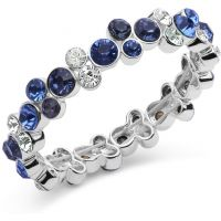 Anne Klein Jewellery Cluster Stretch Bracelet JEWEL