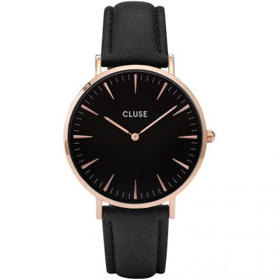 Ladies Cluse La Boheme Leather Watch CL18001