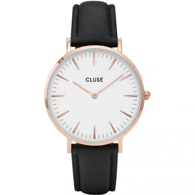 Ladies Cluse La Boheme Leather Watch CL18008