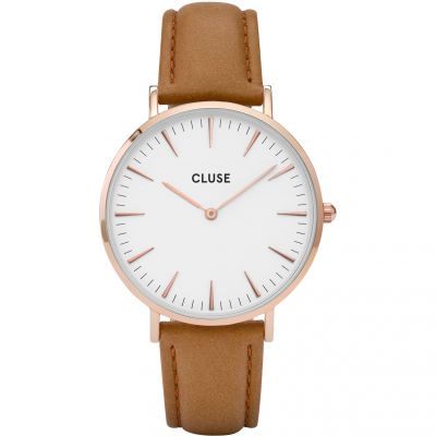 Ladies Cluse La Boheme Leather Watch CL18011