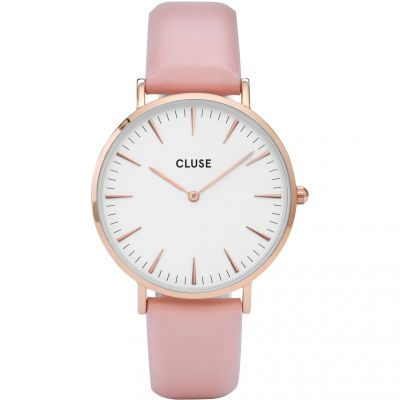 Ladies Cluse La Boheme Leather Watch CL18014