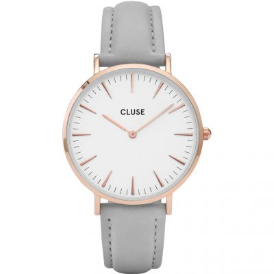 Ladies Cluse La Boheme Leather Watch CL18015