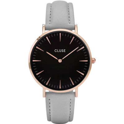 Ladies Cluse La Boheme Leather Watch CL18018