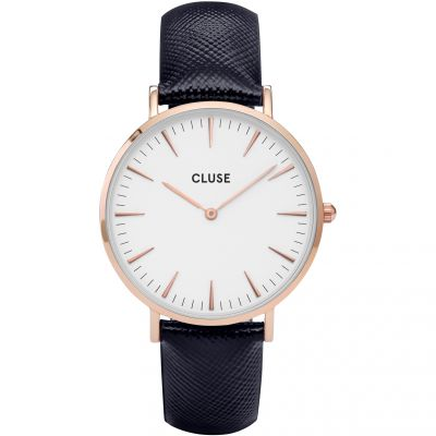 Ladies Cluse La Boheme Leather Watch CL18029