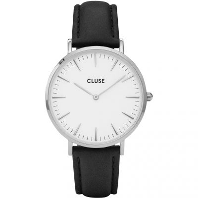 Ladies Cluse La Boheme Leather Watch CL18208