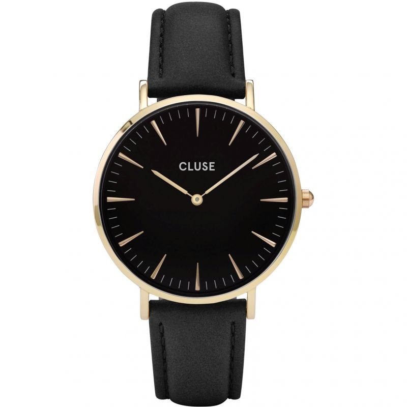 Ladies Cluse La Boheme Leather Watch CL18401