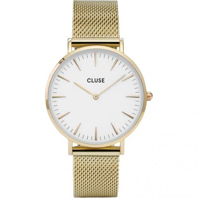 Ladies Cluse La Boheme Mesh Watch CL18109