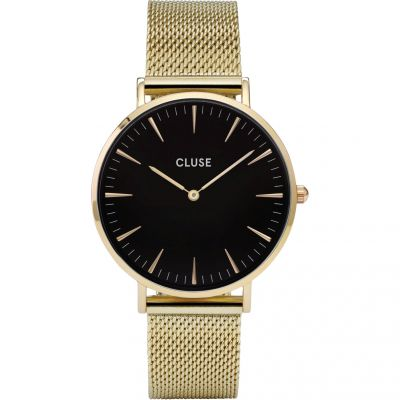 Ladies Cluse La Boheme Mesh Watch CL18110