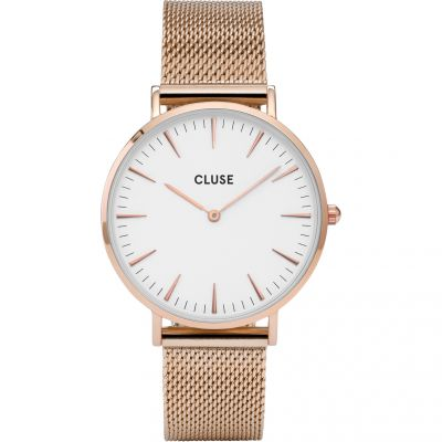 Ladies Cluse La Boheme Mesh Watch CL18112