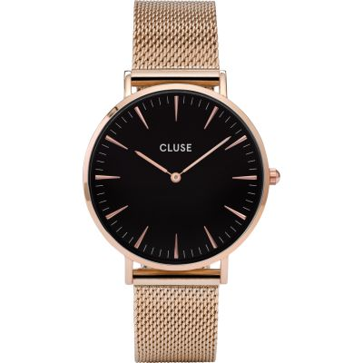 Ladies Cluse La Boheme Mesh Watch CL18113