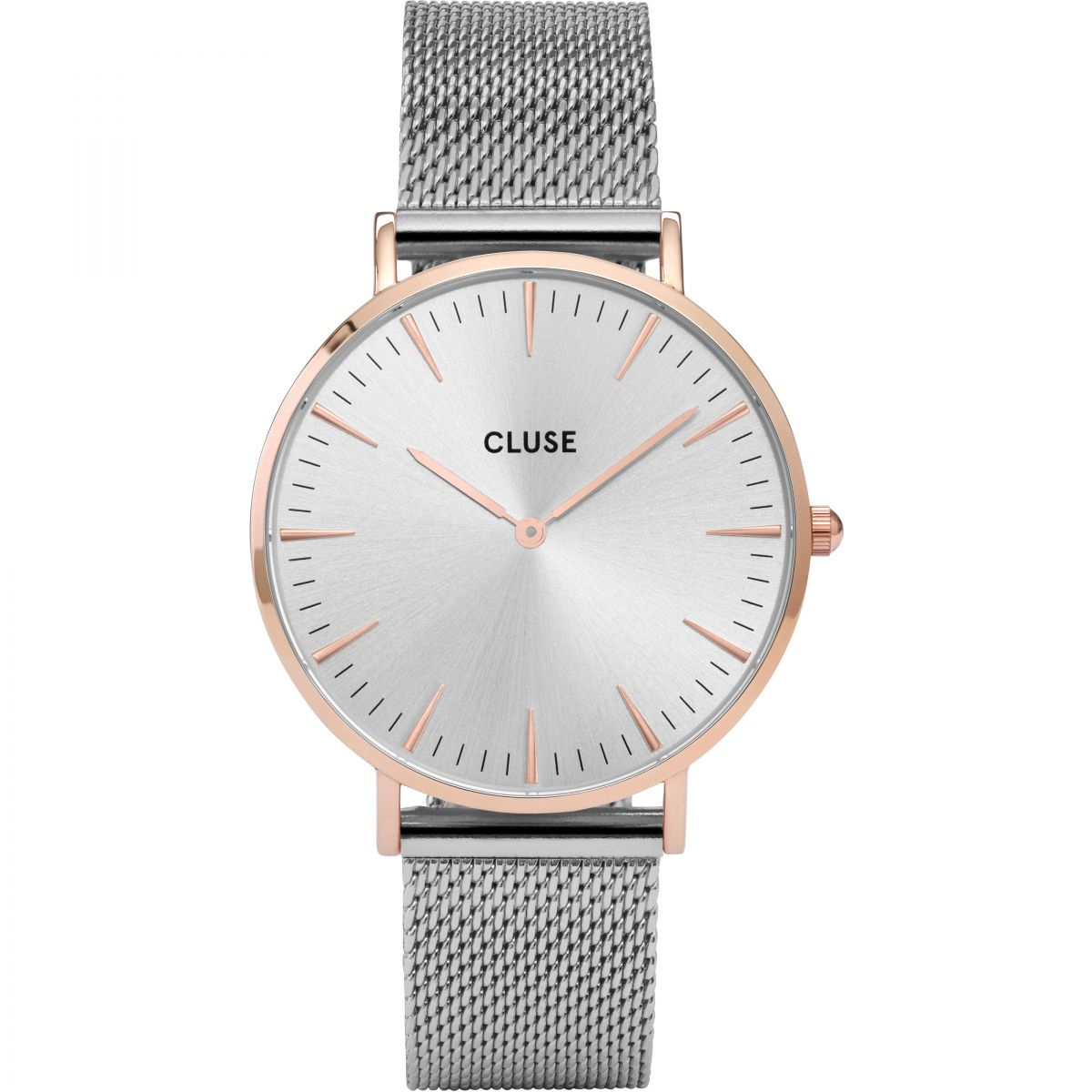 online buycluse at rsp gold cluse watch johnlewis strap pdp rose watches white leather com main la vedette