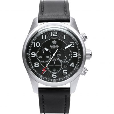 Mens Royal London Chronograph Watch 41360-01