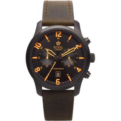 Royal London Herenchronograaf Bruin 41362-02