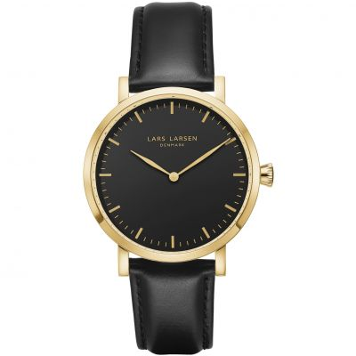 Mens Lars Larsen LW44 Watch 144GBBLL