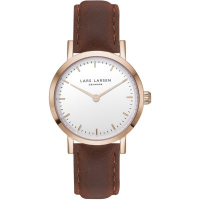 Ladies Lars Larsen LW24 Watch 124RWBL
