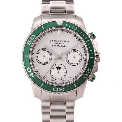 Mens Lars Larsen Watch 134SSBSB