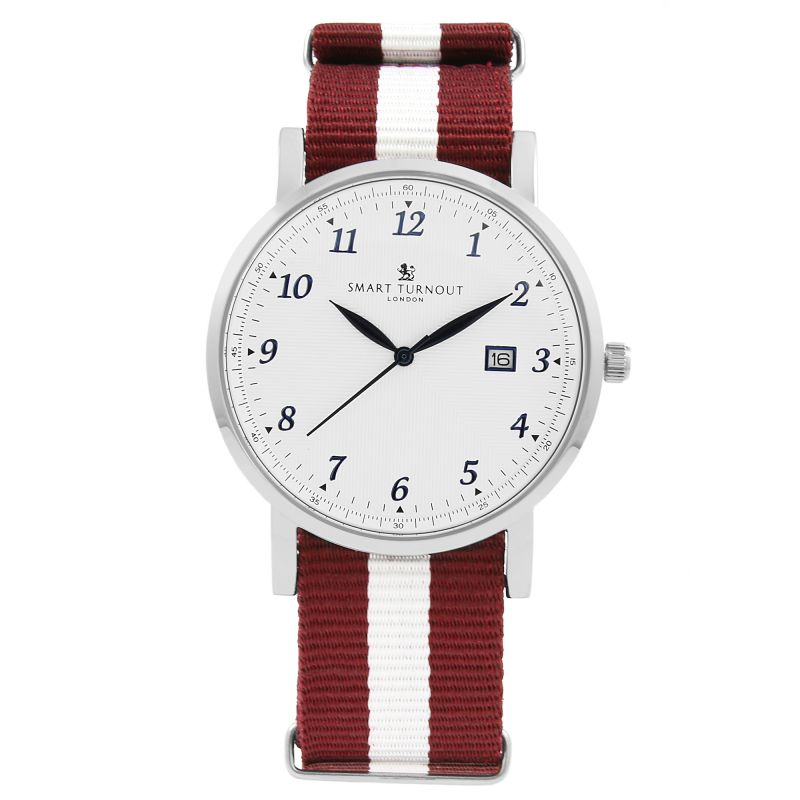Unisex Smart Turnout Savant with Harvard Strap Watch