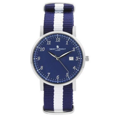 Montre Unisexe Smart Turnout Savant with Yale Strap Strap STH5/SN/56/W-YALE