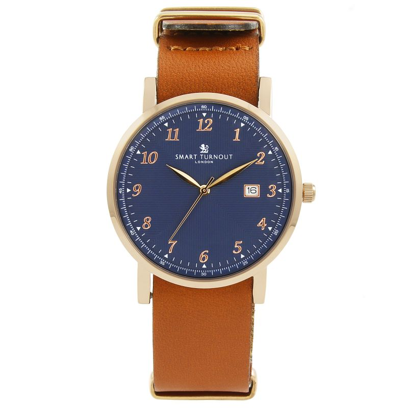 Unisex Smart Turnout Savant with Tan Leather Strap Watch