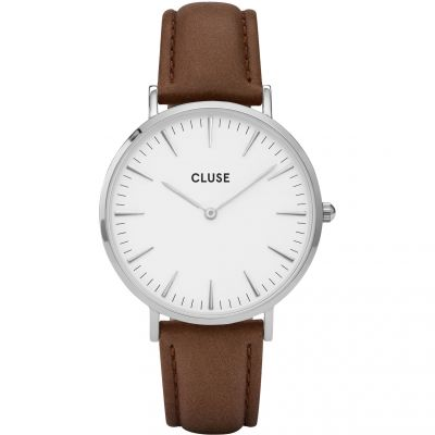 Ladies Cluse La Boheme Silver Watch CL18210
