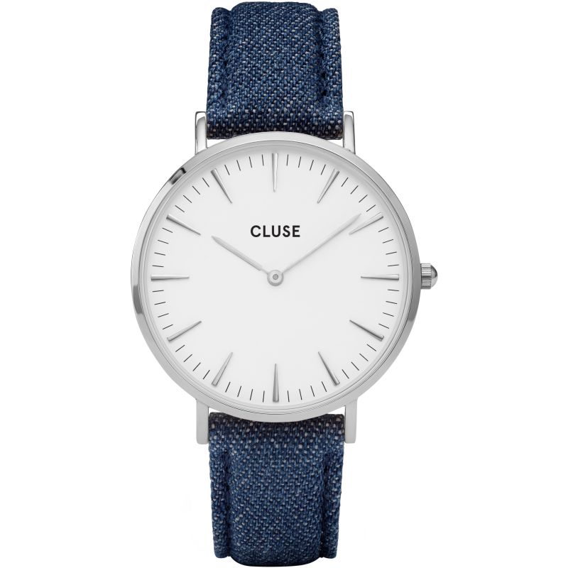 Ladies Cluse La Boheme Silver Watch CL18229