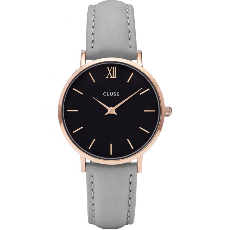 Ladies Cluse Minuit Rose Gold Watch CL30018