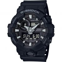 Mens Casio G-Shock Alarm Chronograph Watch GA-700-1BER