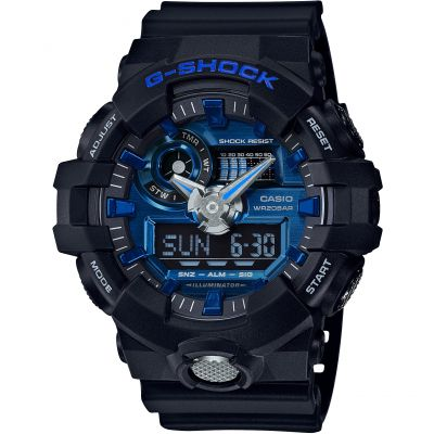 Mens Casio G-Shock Alarm Chronograph Watch GA-710-1A2ER