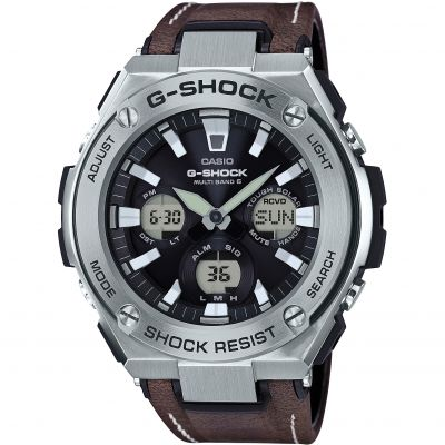 Montre Chronographe Homme Casio G-Steel Street Vintage Style GST-W130L-1AER