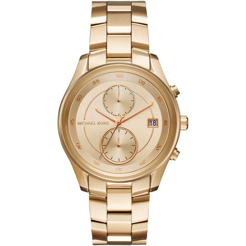 Ladies Michael Kors Briar Chronograph Watch