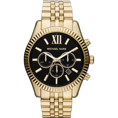 Michael Kors Lexington Herrenchronograph in Gold MK8286