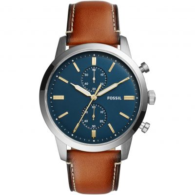 Fossil Townsman Herenchronograaf Bruin FS5279