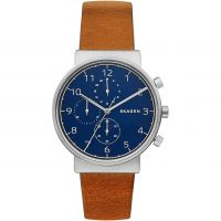 Mens Skagen Ancher Chronograph Watch SKW6358