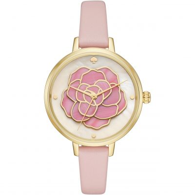 Kate Spade New York Roses Dameshorloge Roze KSW1257