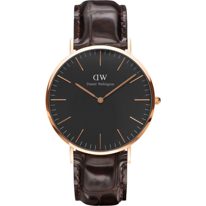 Unisex Daniel Wellington Classic Black York Watch 40mm Watch