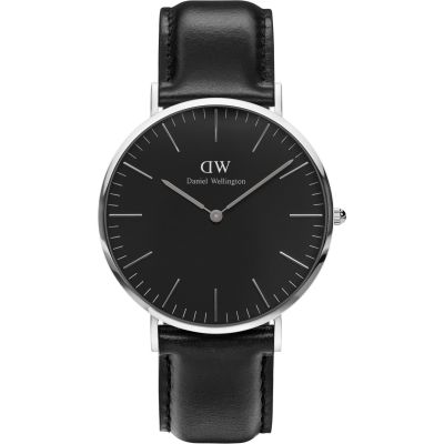 Daniel Wellington Classic Black Sheffield Watch 40mm Unisexuhr in Schwarz DW00100133