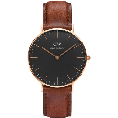 Unisex Daniel Wellington Classic Black St Mawes Watch 36mm Watch DW00100136
