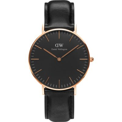 Unisex Daniel Wellington Classic Black Sheffield Watch 36mm Watch DW00100139
