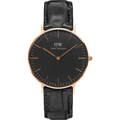 Daniel Wellington Classic Black Reading Watch 36mm Unisexuhr in Schwarz DW00100141