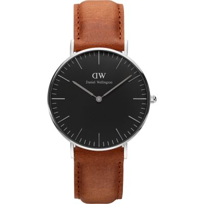 Daniel Wellington Classic Black Durham Watch 36mm Unisexuhr in Braun DW00100144