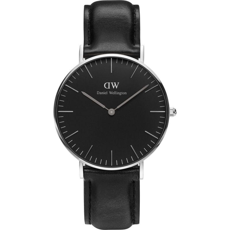 Mens Daniel Wellington Classic Black Sheffield Watch 36mm Watch