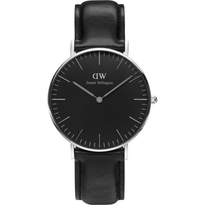 Mens Daniel Wellington Classic Black Sheffield Watch 36mm Watch DW00100145