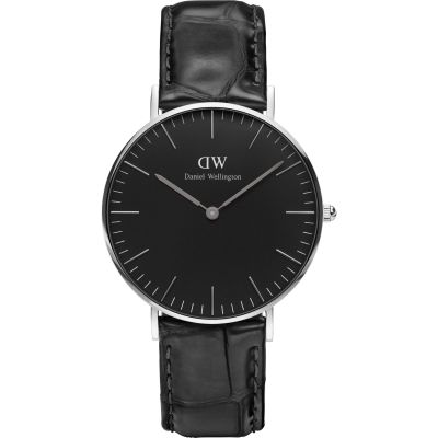 Daniel Wellington Classic Black Reading Watch 36mm Unisexuhr in Schwarz DW00100147