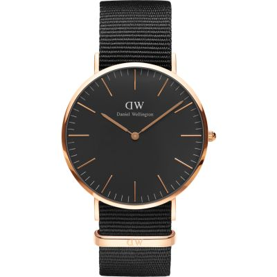 Montre Unisexe Daniel Wellington Classic Black Cornwall Watch 40mm DW00100148
