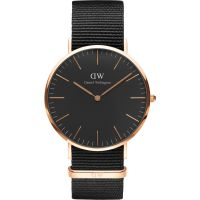 Unisex Daniel Wellington Classic Black Cornwall Watch 40mm Watch DW00100148