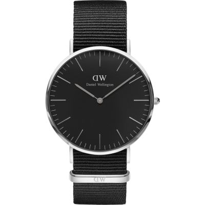Unisex Daniel Wellington Classic Black Cornwall Watch 40mm Watch DW00100149